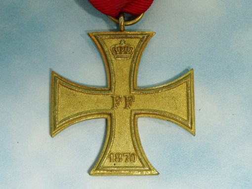 1870 MILITARY SERVICE CROSS 2nd CLASS FOR NON COMBATANTS - MECKLENBURG SCHWERIN - Imperial German Military Antiques Sale