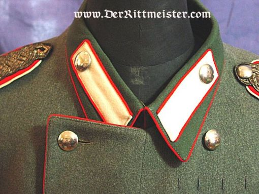 PRUSSIA - KLEINER ROCK - MAJOR a.D - FELDGRAU - KÜRAßIER-REGIMENT Nr 4 - Imperial German Military Antiques Sale