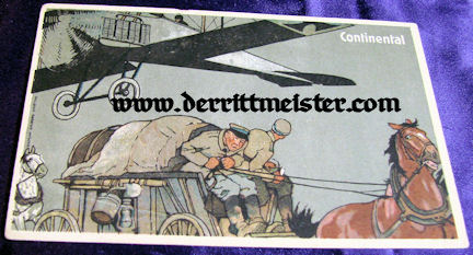 COLOR POSTCARD - CONTINENTAL AVIATION - Imperial German Military Antiques Sale