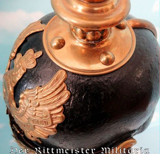 PRUSSIA - KUGELHELM - ENLISTED MAN - IDENTIFIED - M-1867 - Imperial German Military Antiques Sale