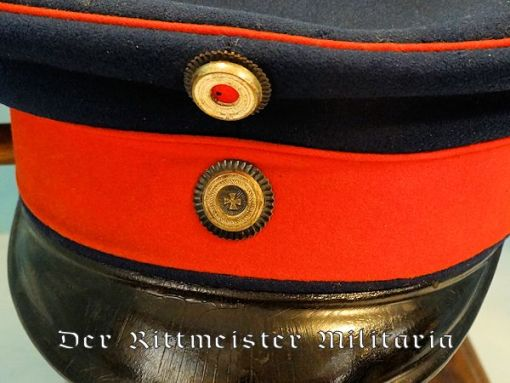 PRUSSIA - SCHIRMÜTZE - RESERVE OFFICER - INFANTRY OR CAVALRY - Imperial German Military Antiques Sale