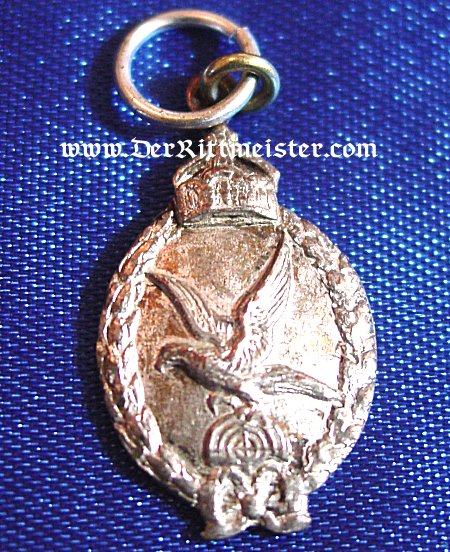 PRUSSIAN ARMY GUNNER'S BADGE - MINIATURE - Imperial German Military Antiques Sale