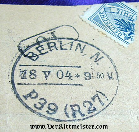 PRUSSIA - TELEGRAMS - KAISER WILHELM II TO ARTIST FRITZ KRAUS - Imperial German Military Antiques Sale