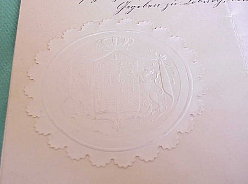 AWARD DOCUMENT GROUP TO ARTHUR HAY - Imperial German Military Antiques Sale