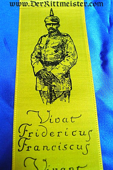 VIVAT RIBBON - GRAND DUKE FRIEDRICH FRANZ IV AND THE BATTLES OF LUTTICH, HALELEN, ESTERNAY, AND MAUSERN- MECKLENBURG-SCHWERIN - Imperial German Military Antiques Sale