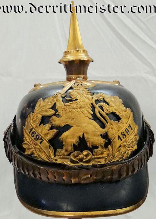 HESSE-DARMSTADT - PICKELHAUBE - OFFICER - INFANTERIE-REGIMENT Nr 117 - Imperial German Military Antiques Sale
