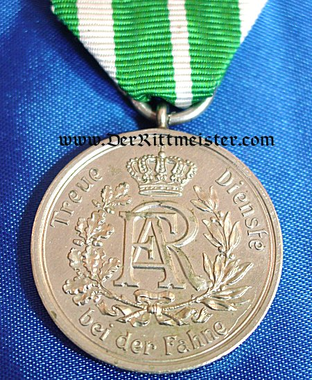 3rd CLASS LONG SERVICE AWARD - NINE YEARS - SAXONY - Imperial German Military Antiques Sale