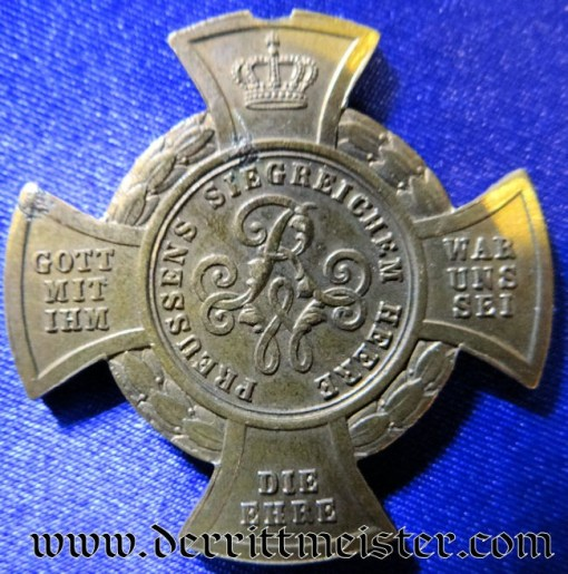 DER MAIN ARMEE MEDAL - AUSTRO-PRUSSIAN WAR - 1866 - Imperial German Military Antiques Sale