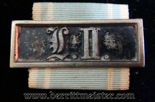 NCO'S NINE-YEARS LONG-SERVICE AWARD - BAVARIA - Imperial German Military Antiques Sale
