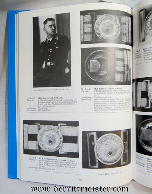 GERMANY - BOOK - DEUTSCHE KOPPELSCHLÖSSER 1800-1945 BY JÜRGEN BANDAU - Imperial German Military Antiques Sale