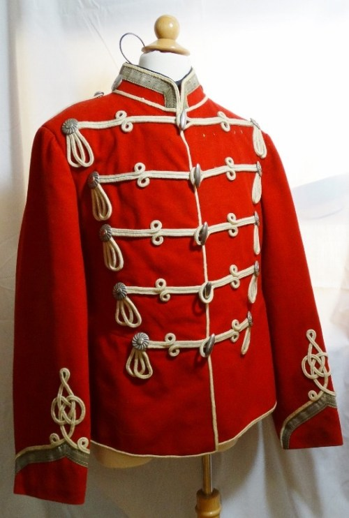 PRUSSIA - ATTILA - SERGEANT MAJOR - HUSAREN REGIMENT Nr 3  - WACHTMEISTER - Imperial German Military Antiques Sale