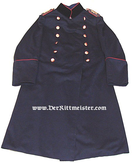 PRUSSIA - UBERROCK - MAJOR - FELDARTILLERIE-REGIMENT Nr 15 - Imperial German Military Antiques Sale