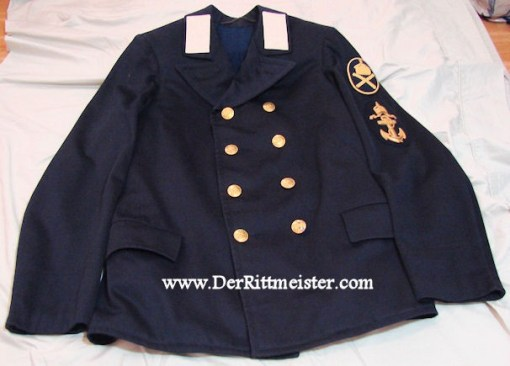 PRUSSIA - TUNIC - PETTY OFFICER - NAVY - ROYAL LAUNCH OF THE S.M.Y. (S.M.S.) HOHENZOLLERN - Imperial German Military Antiques Sale