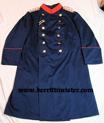 WÜRTTEMBERG - ÜBERROCK - GENERAL der INFANTERIE À LA SUITE - GRENADIER-REGIMENT KÖNIG KARL (5. WÜRTTEMBERGISCHES) Nr 123 - Imperial German Military Antiques Sale
