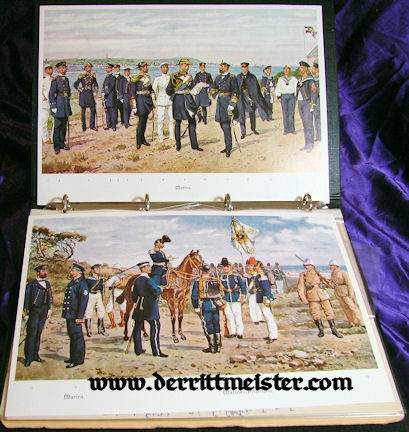 BOOK - COLLECTORS' MANUAL - NAVY & SCHUTZTRUPPEN UNIFORMS - Imperial German Military Antiques Sale