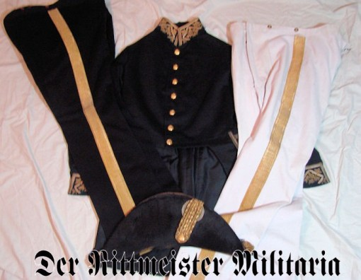 SAXE-ALTENBURG - UNIFORM GROUP - SENIOR PALACE OFFICIAL - Imperial German Military Antiques Sale
