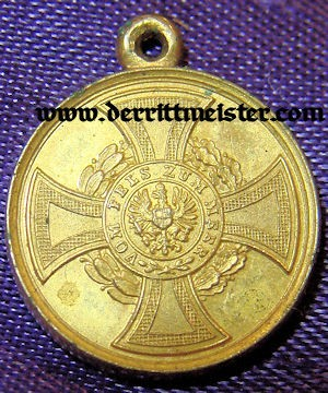 1848-1849 COMBATANT'S MEDAL - MINIATURE - PRUSSIA - Imperial German Military Antiques Sale