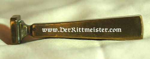 GERMANY - STAMP FOR MARKING SEALING WAX - METAL - Imperial German Military Antiques Sale