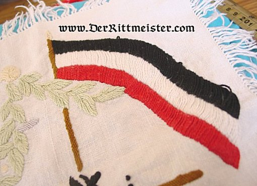 GERMANY - PATRIOTIC DOILY - Imperial German Military Antiques Sale