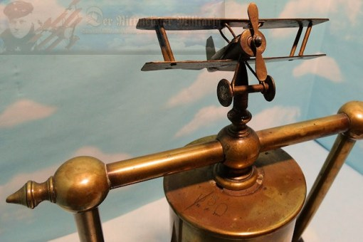 AIR SERVICE - GONG FOR OFFICER'S CASINO - Imperial German Military Antiques Sale