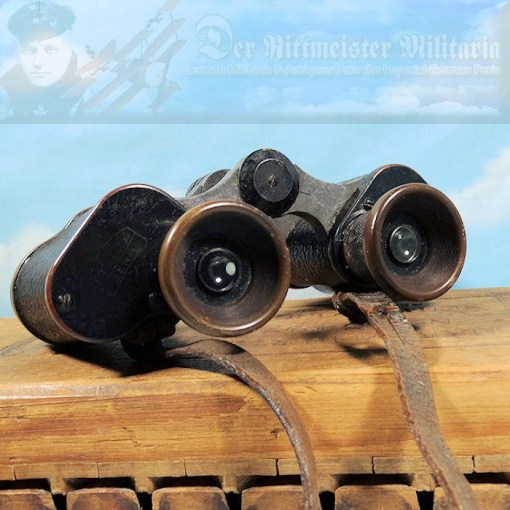 BINOCULARS - Imperial German Military Antiques Sale