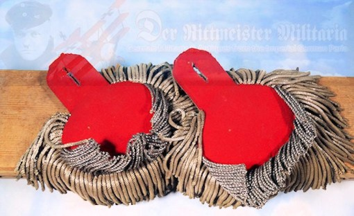 PRUSSIA - EPAULETTES - OBERST - INFANTERIE-REGIMENT NR 160 - Imperial German Military Antiques Sale