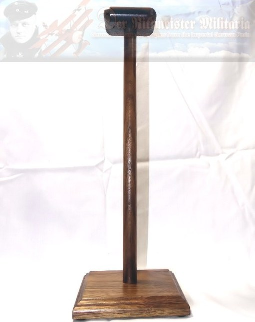 LARGE HELMET DISPLAY STAND - Imperial German Military Antiques Sale