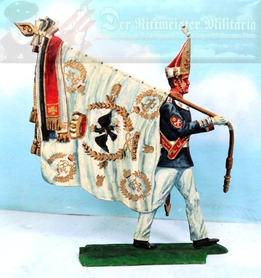 PRUSSIA - MITRE - RUSSIAN-STYLE - ENLISTED MAN - MUSEUM COPY - EGRzuFUß BATAILLON NR I - Imperial German Military Antiques Sale