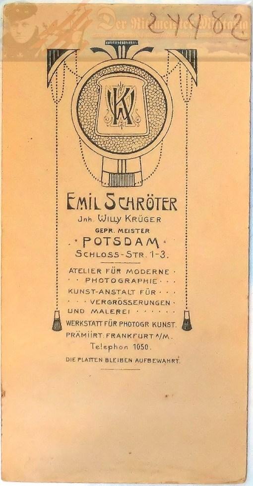 PRUSSIA - MITRE - ONE-YEAR-VOLUNTEER - ERSTE GARDE REGIMENT ZU FUß BATAILLON NR I - FRIEDRICH der GROßE-STYLE - Imperial German Military Antiques Sale