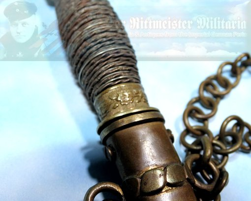 DAGGER - NAVY - REICHSMARINE - PRODUCED ABOARD SHIP - Imperial German Military Antiques Sale