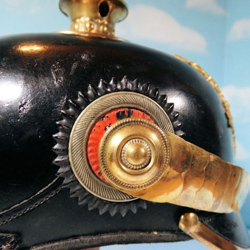 BRAUNSCHWEIG - PICKELHAUBE - FÄHNRICH - INFANTERIE-REGIMENT NR 92 - BATAILLON Nr III - Imperial German Military Antiques Sale