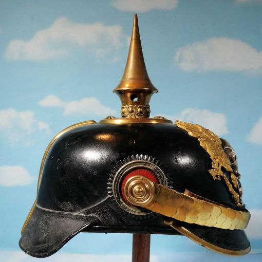 BRAUNSCHWEIG - PICKELHAUBE-OFFICER - INFANTERIE-REGIMENT NR 92 - Imperial German Military Antiques Sale