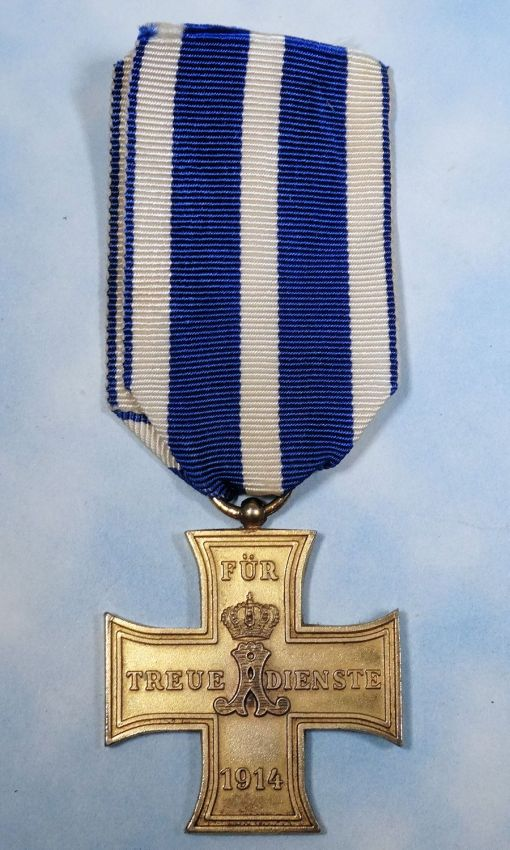 SCHAUMBURG-LIPPE - TRUE COMBATABTS SERVICE CROSS - 2nd CLASS