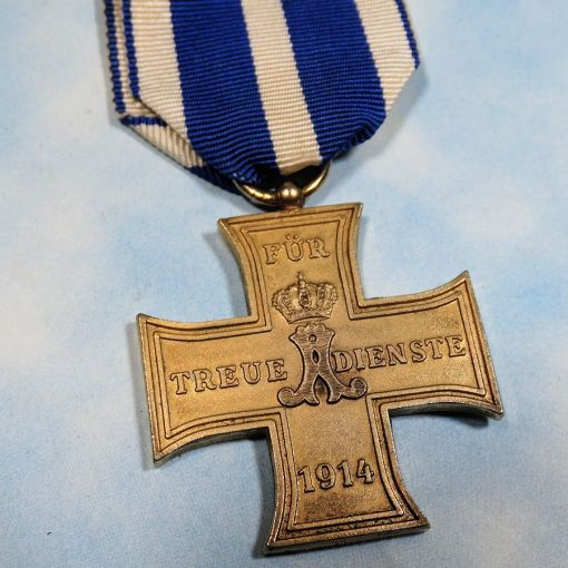 SCHAUMBURG-LIPPE - TRUE COMBATABTS SERVICE CROSS - 2nd CLASS - Imperial German Military Antiques Sale