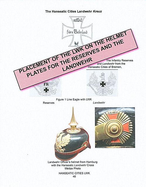 THE RESERVE/LANDWEHR KREUZ (CROSS) of the IMPERIAL GERMAN ARMY. - Imperial German Military Antiques Sale