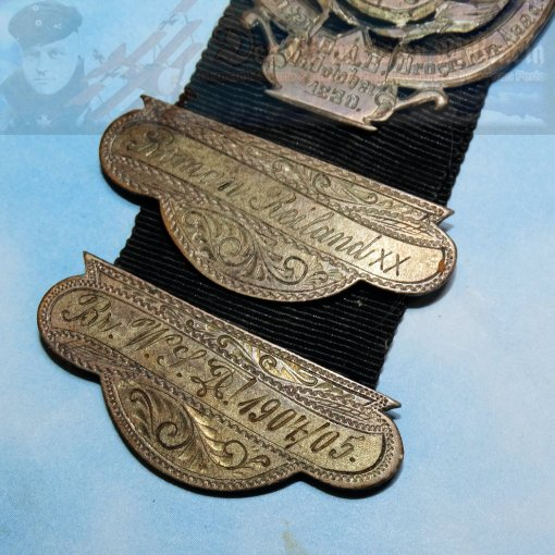 WATCH FOB - BRAUNSCHWEIG - Imperial German Military Antiques Sale