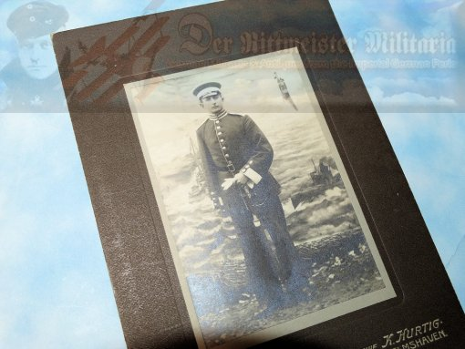 PHOTOGRAPH - NCO - SEEBATAILLON NR II - Imperial German Military Antiques Sale
