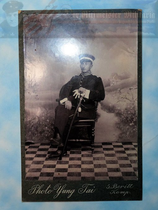 PHOTOGRAPH - NCO - SEEBATAILLON NR III - Imperial German Military Antiques Sale