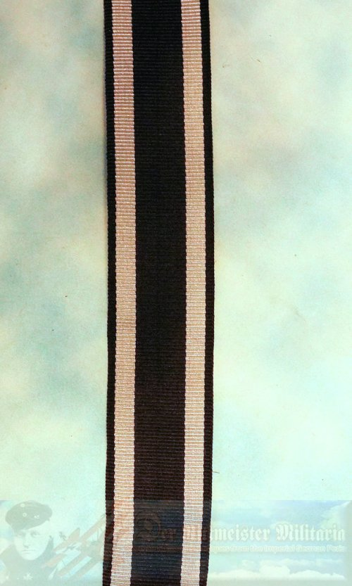 "IRON CROSS - 1914 - 2ND CLASS - RIBBON - NEW/OLD STOCK 6"" SECTION."