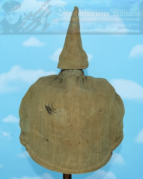 GERMANY - FOUL WEATHER COVER - PICKELHAUBE