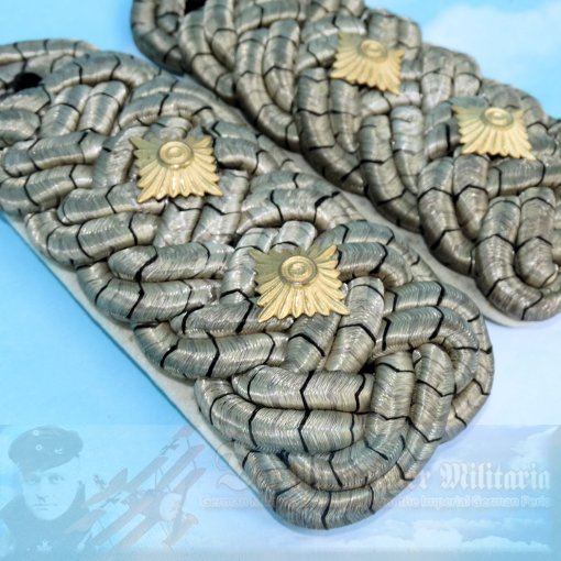 PRUSSIA - SHOULDER BOARDS - OBERST - Imperial German Military Antiques Sale