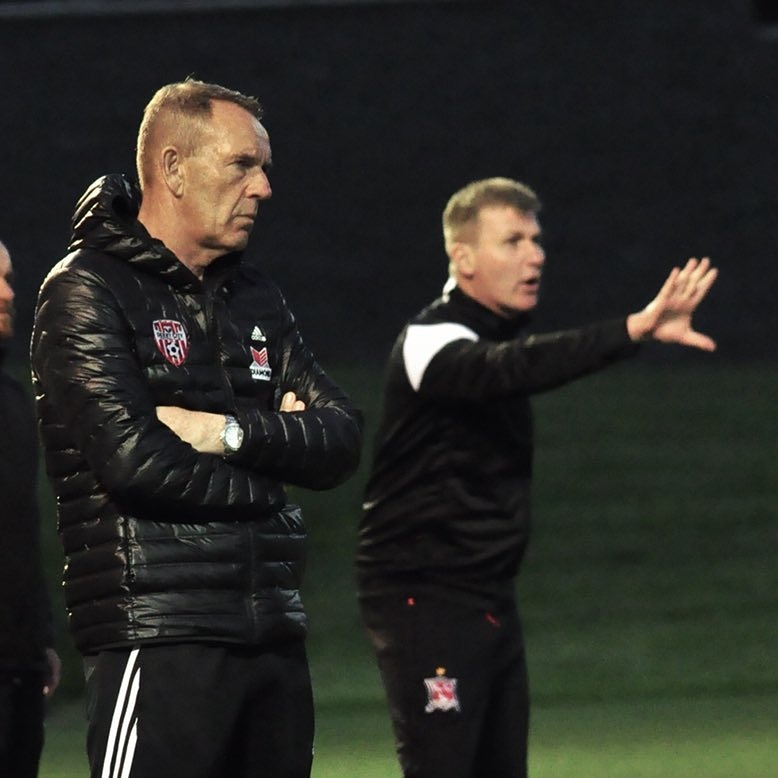 Vinny Perth relieved Dundalk have Champions League