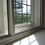 Heritage Aluminium secondary glazing horizontal sliding casement window secondary glazing