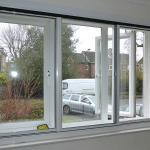 Large window secondary glazing in derry city and Northern ireland glazier for new secondary glazing windows