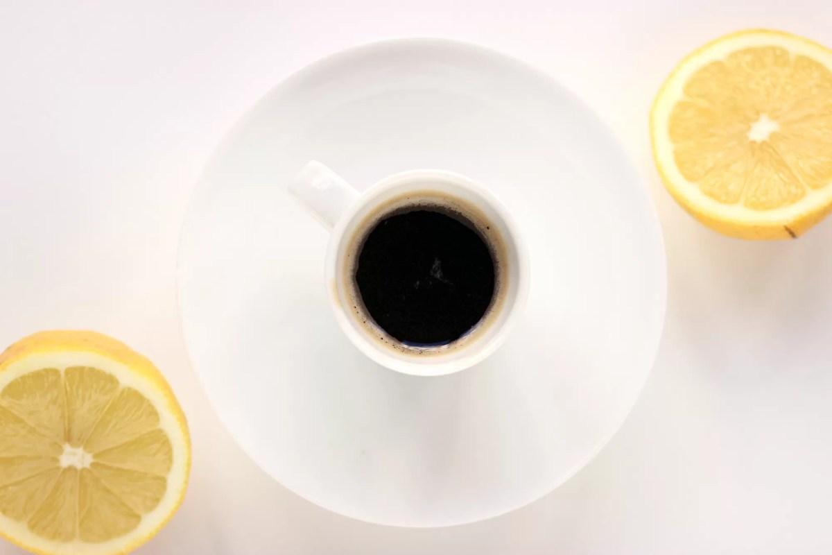 Caffè e limone - non solo per il mal di testa