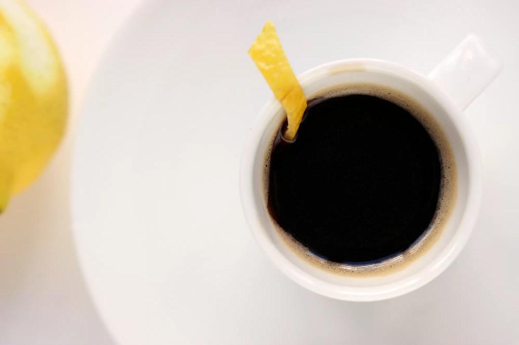 Caffè al limone