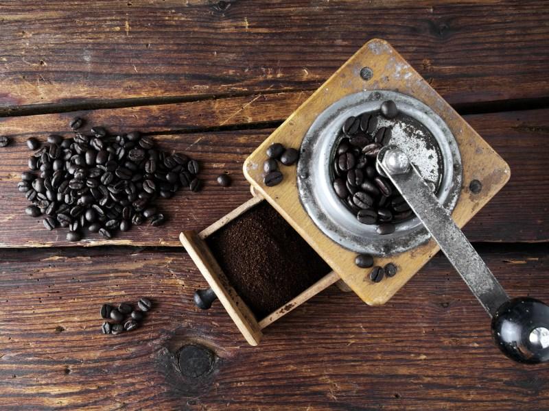 Caffè e frutta