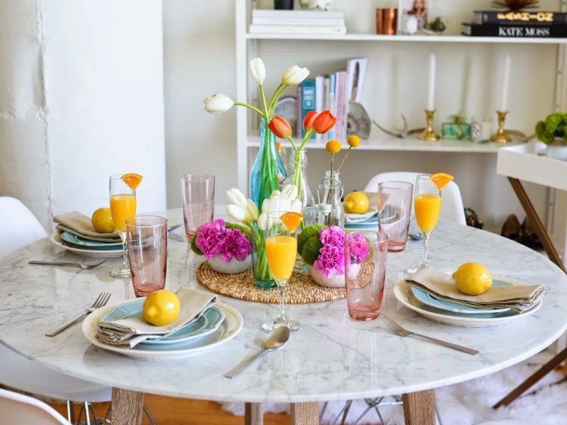 come organizzare un brunch perfetto mise en place allestimento tavolo