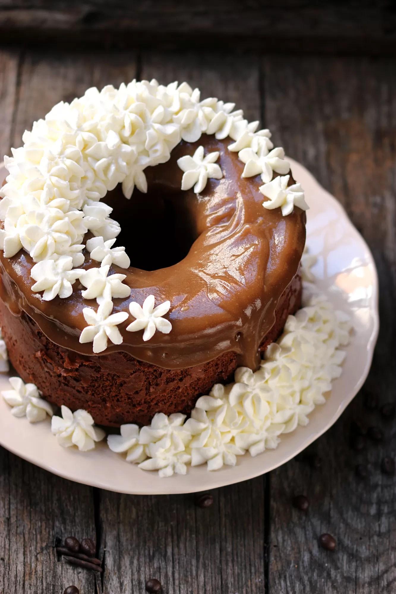 Chiffon Cake gusto panna e caffè