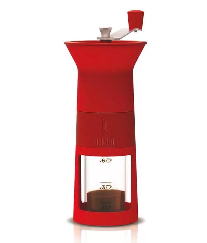 Natale 2017 - Idee regalo per amanti del caffè - Macinacaffè Bialetti rosso